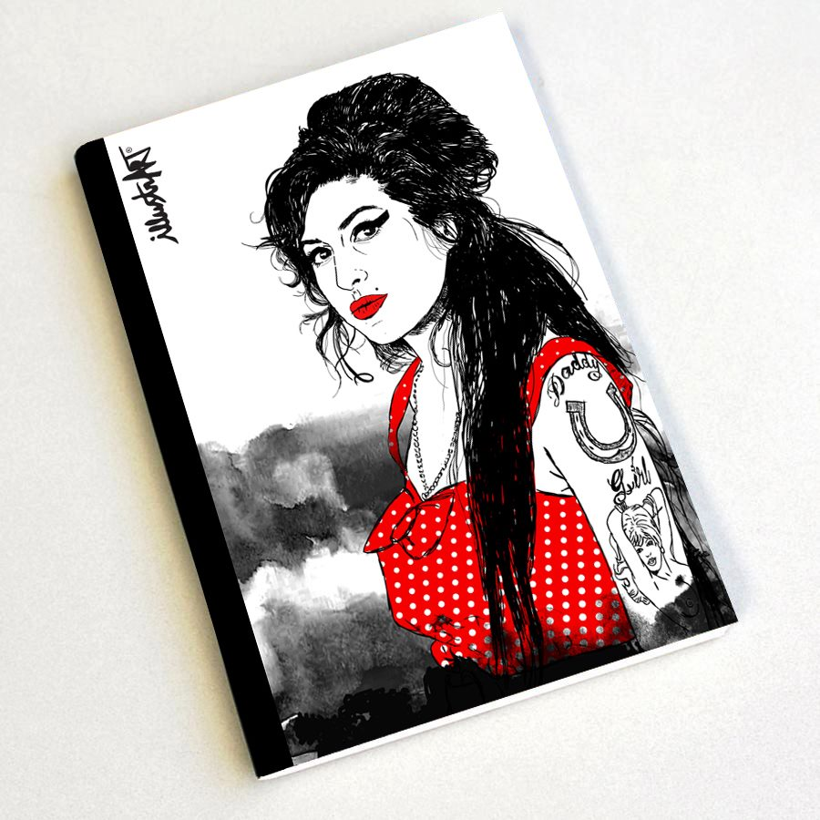 caderno amy*winehouse