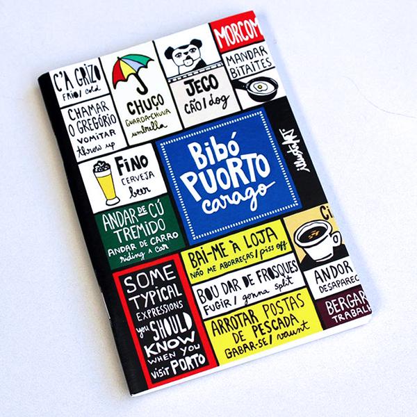 caderno Bibó Puorto
