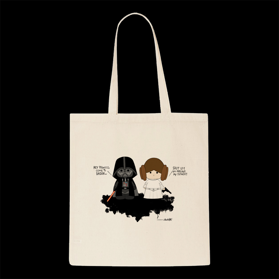 tote bag daddy and me