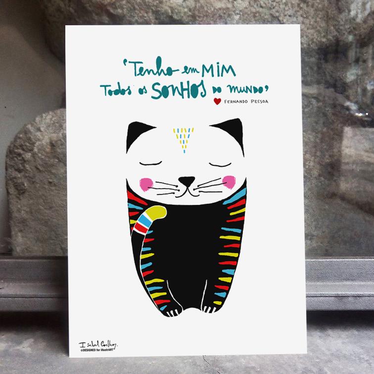 Ilustração Black Cat