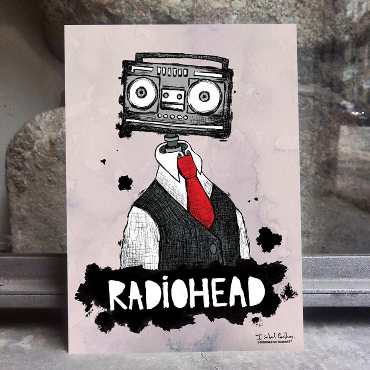 Ilustração Radiohead