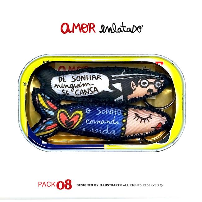 AMOR ENLATADO PACK 08