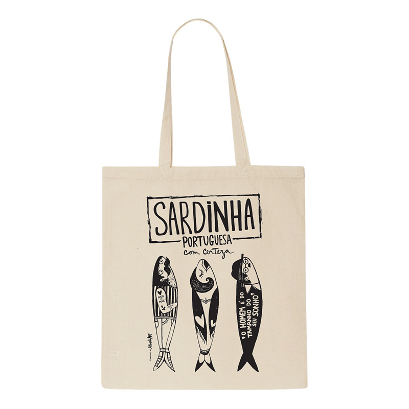 Tote Bag Sardinha Portuguesa