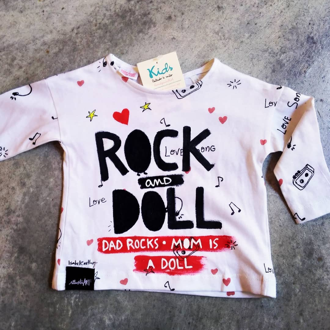 tshirt rock & doll