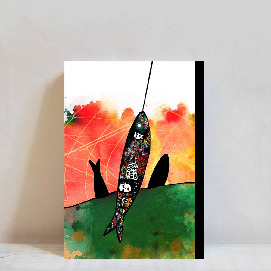 caderno Love Sardines