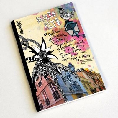 caderno bairro alto - Lisboa