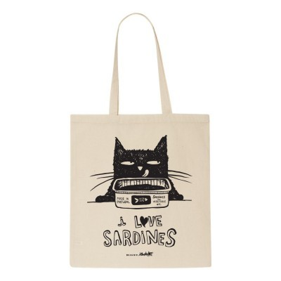 Tote Bag Love Sardines