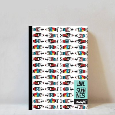 caderno portuguese sardines