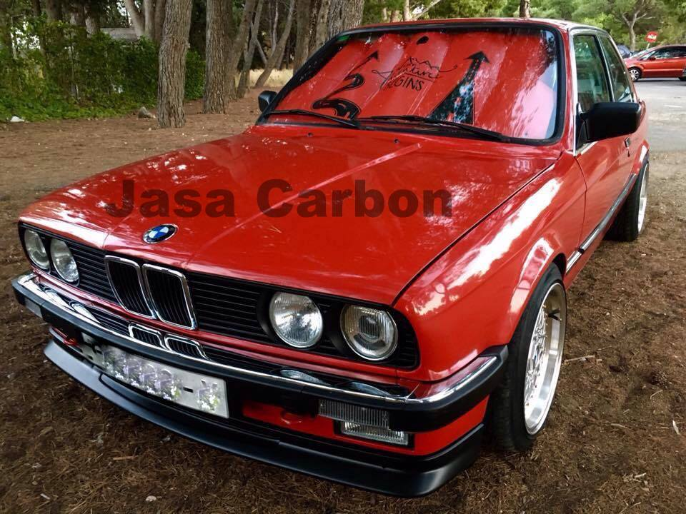 BMW e30 jimmy hill style front lip