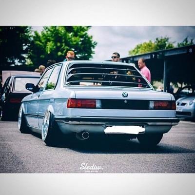 BMW E21 lOUVER
