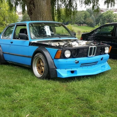 BMW E21 WIDE BODY FENDERS - GROUP 2