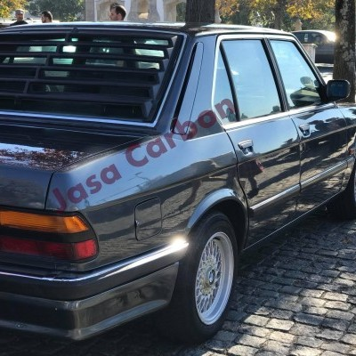 BMW E28 REAR WINDOW LOUVER