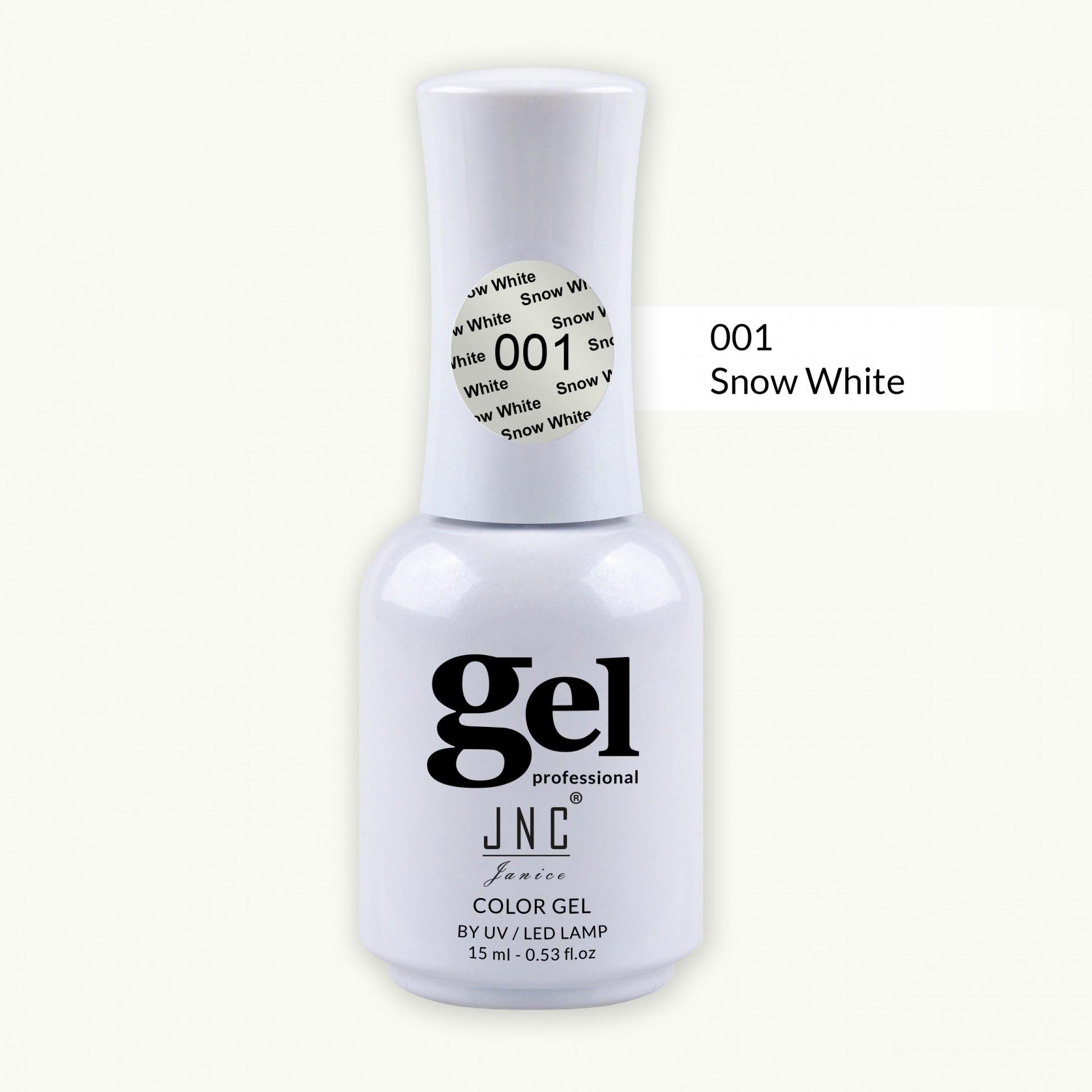 Verniz Gel 001 - Snow White