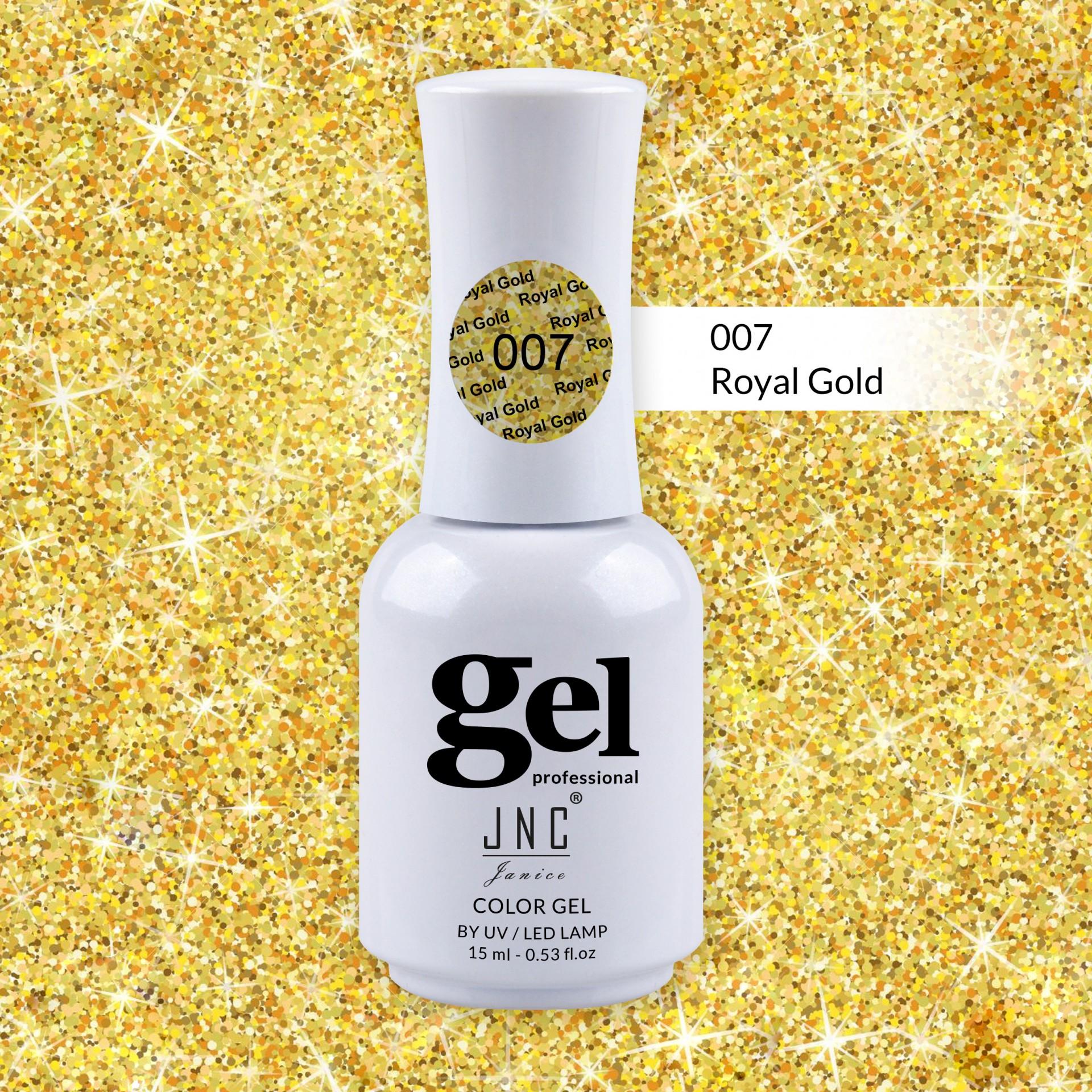 Verniz Gel 007 - Royal Gold