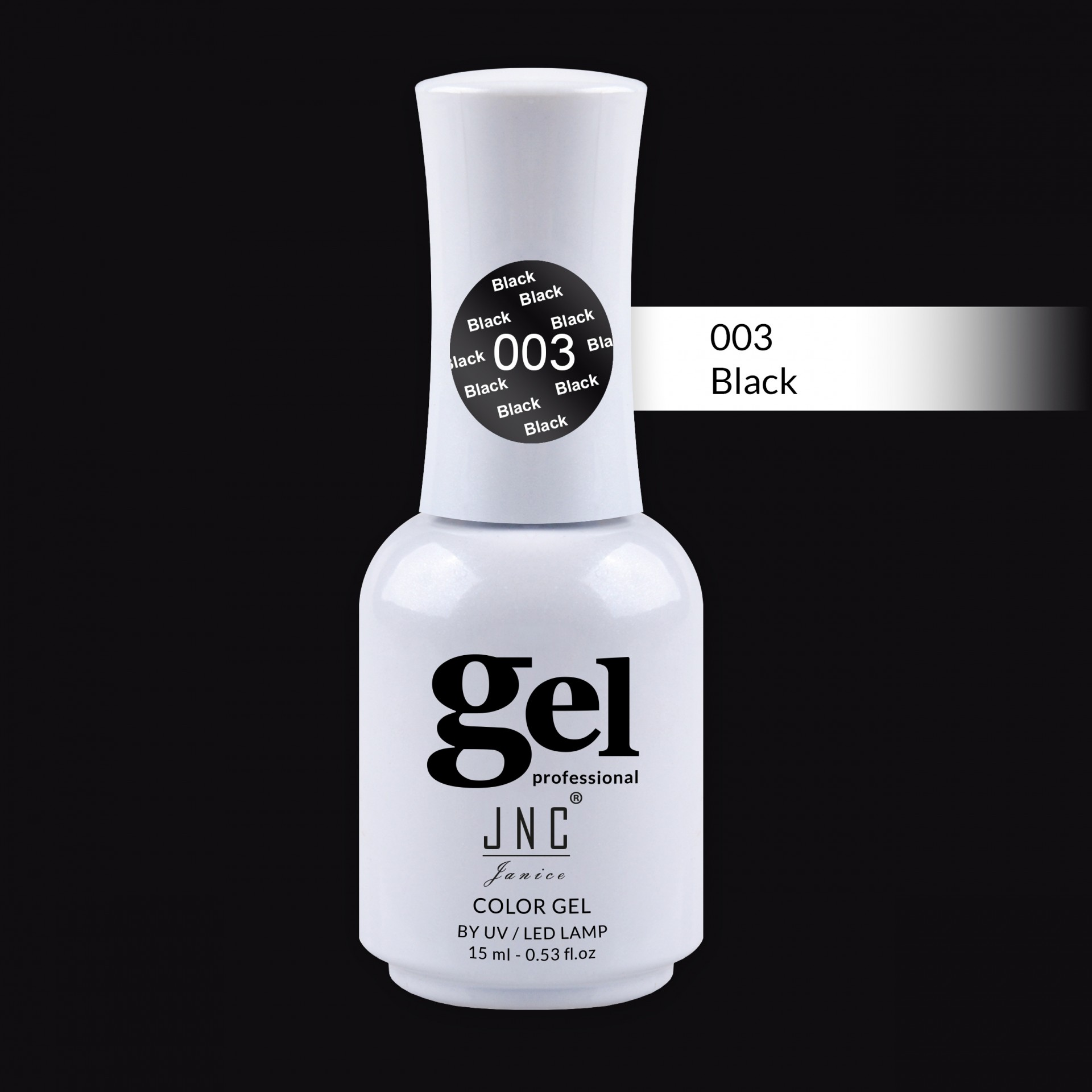 Verniz Gel 003 - Black