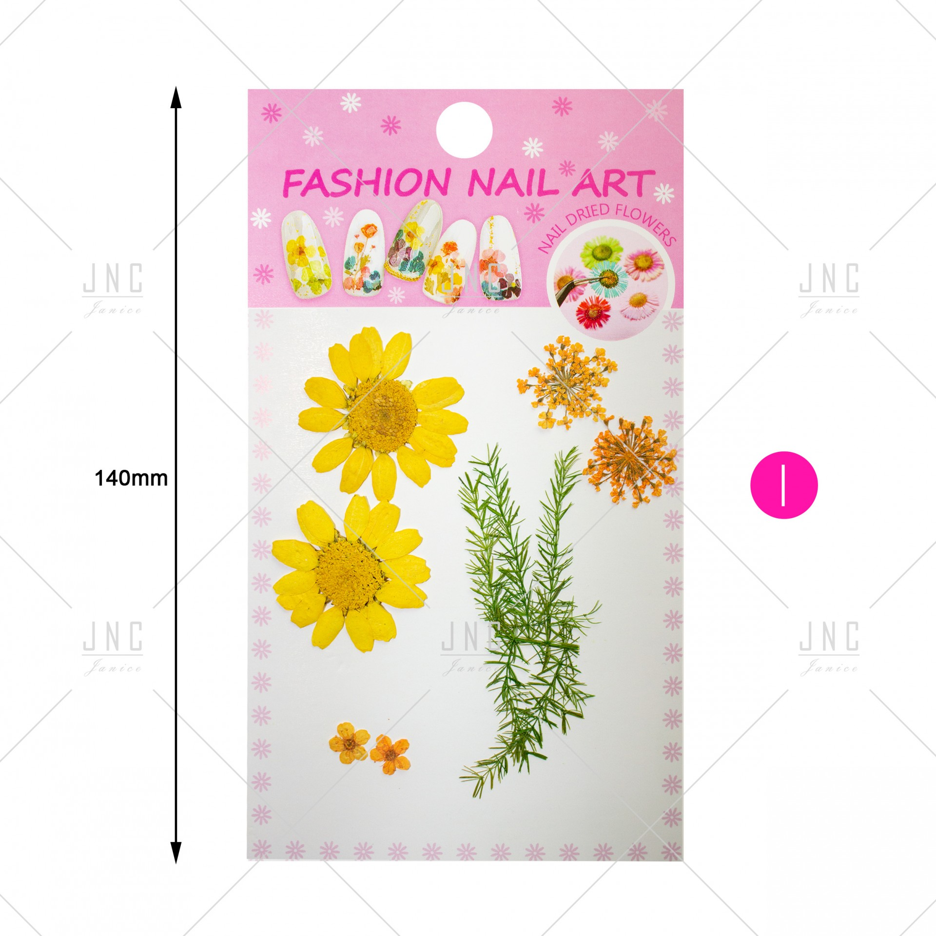 Flores Secas para Nail Art   Ref.861920