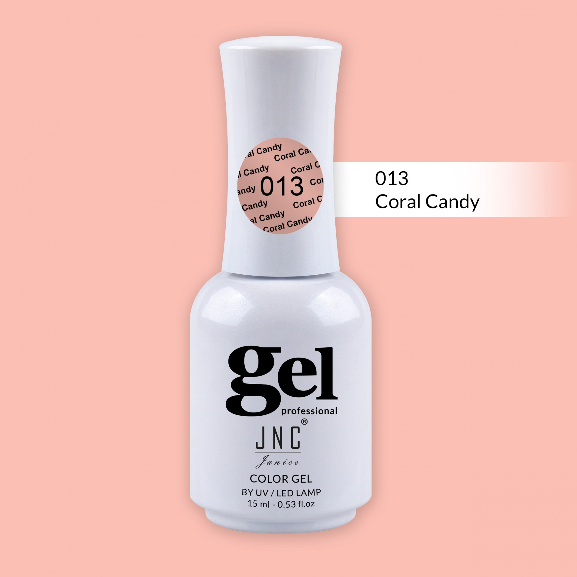 Verniz Gel 013 - Coral Candy