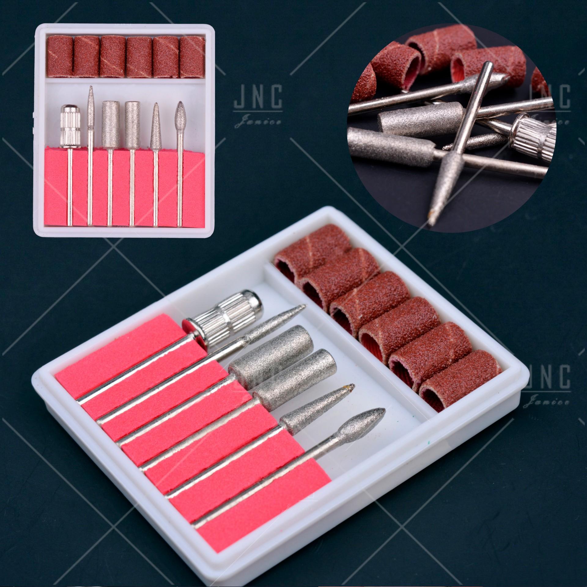 Kit Acessórios Set Manicure - 6 Limas | Ref.860620