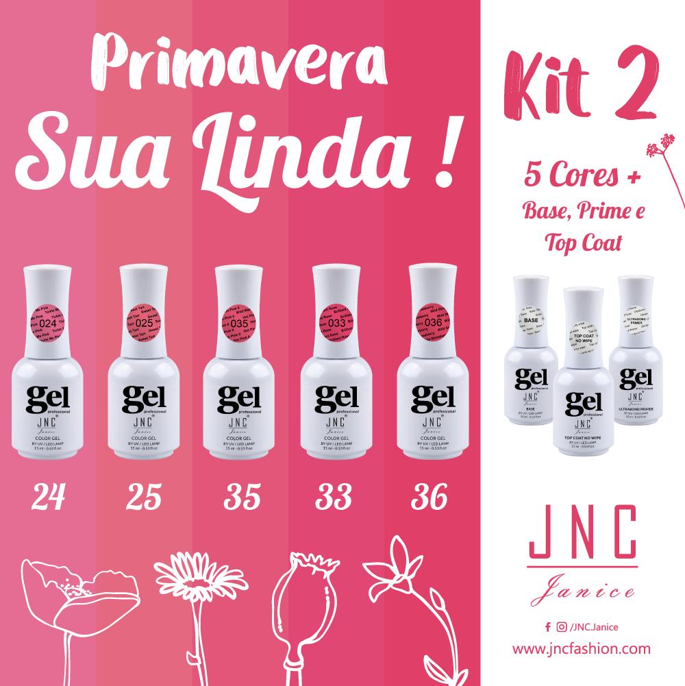 Kit 2 - Primavera Sua Linda !   Ref.Pri2