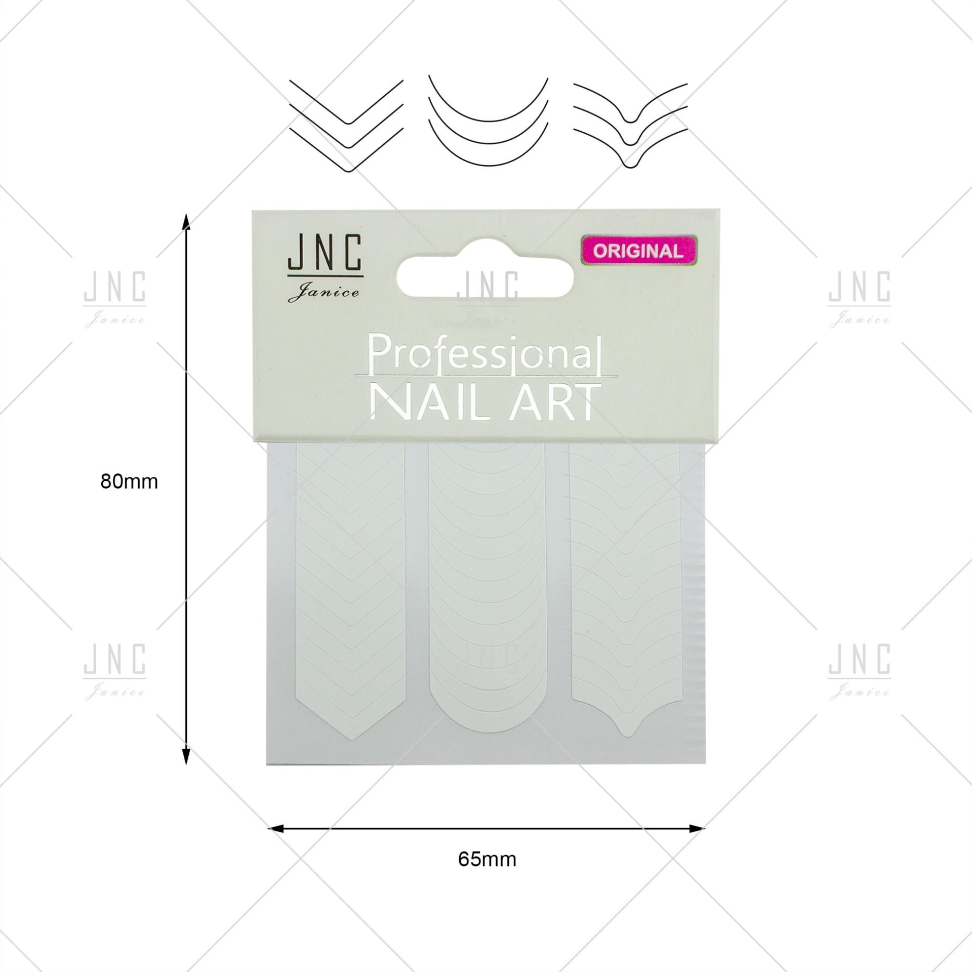Adesivos Manicure Francesa #03 - Ref.860748