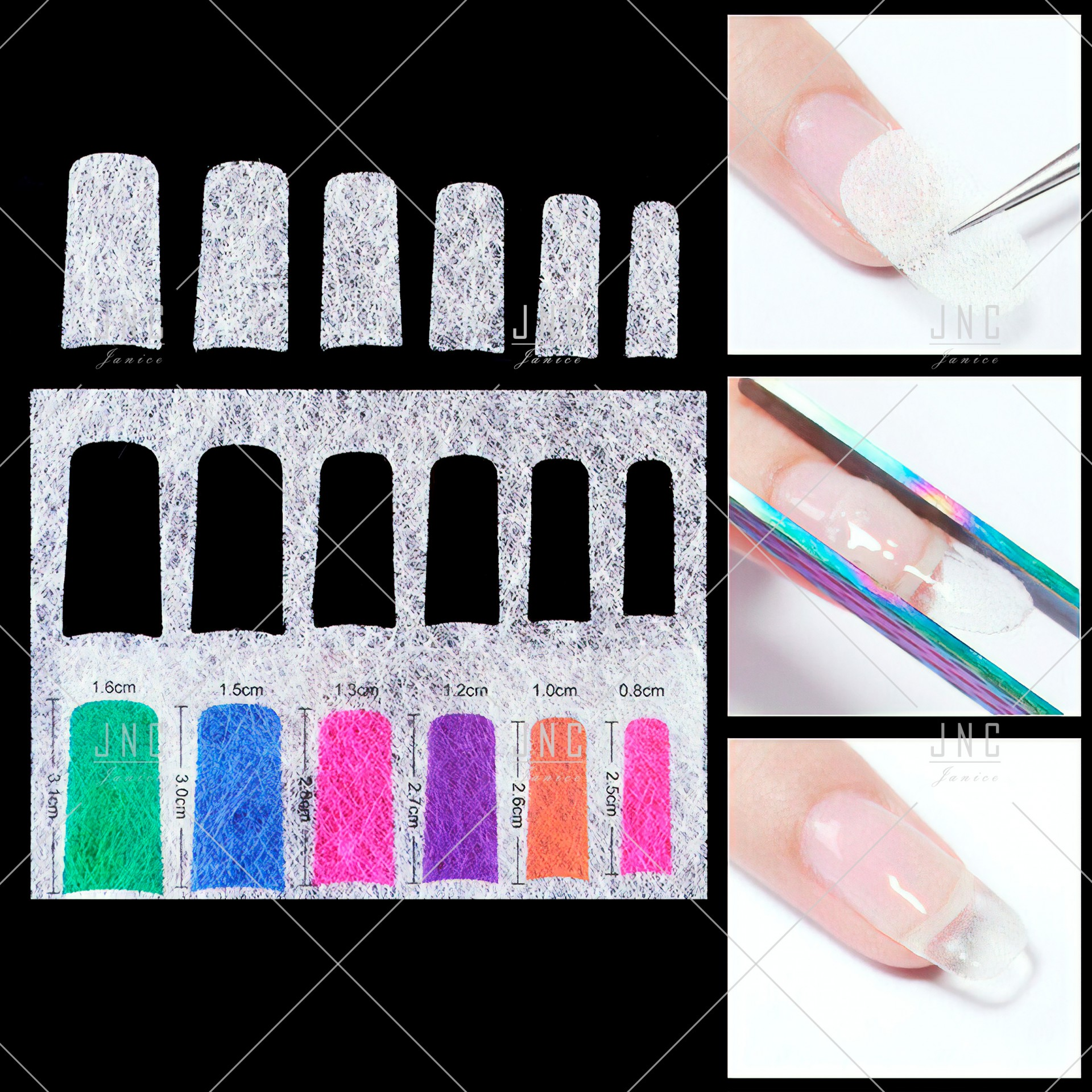 Extensão de unhas em Fibra de Vidro | Ref.861919