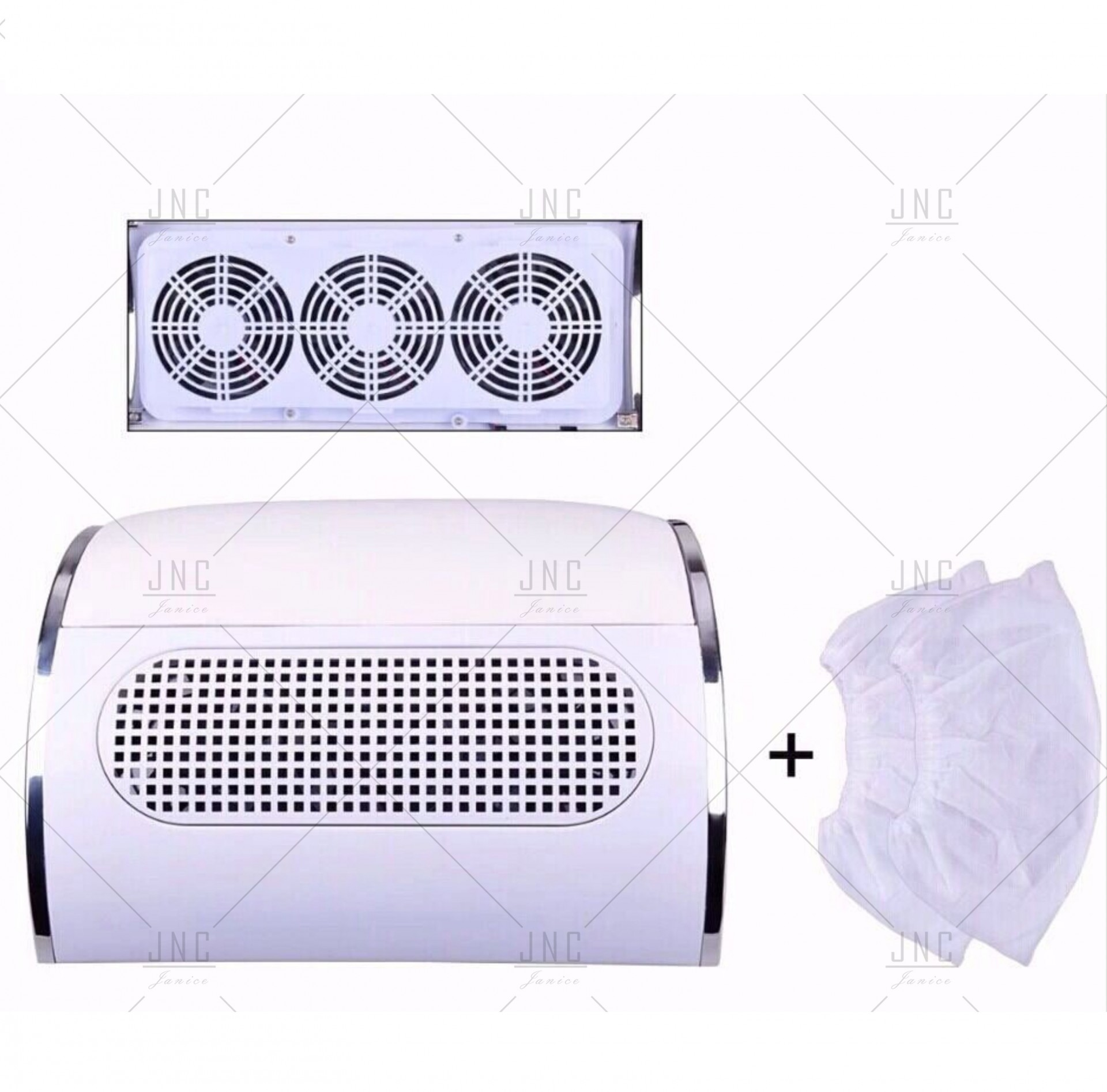 Aspirador de Pó de Unhas Gel | 3 Motores Potentes | Ref.861390
