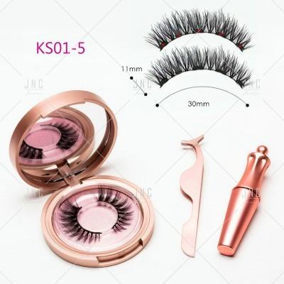 Pestanas Magnéticas com Eyeliner - KS01-5 | Ref.862065