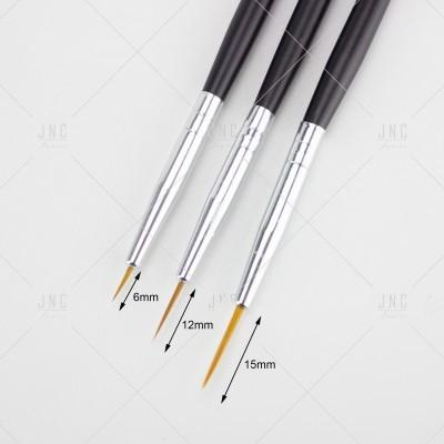 Kit Pincéis Nail Art - 3 PCS | Ref.861137