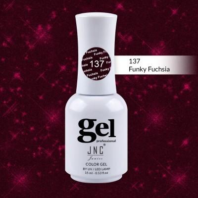 Verniz Gel 137 - Funky Fuchsia