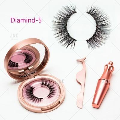 Pestanas Magnéticas com Eyeliner - Diamind-5 | Ref.862064