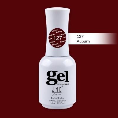 Verniz Gel 127 - Auburn