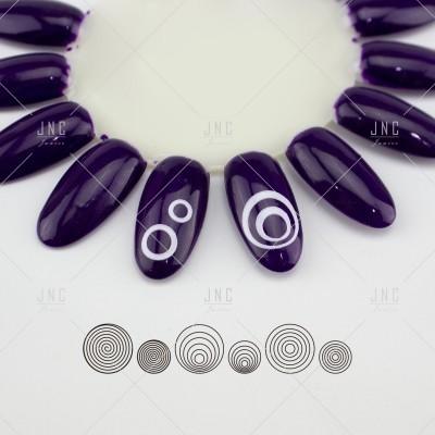 Adesivos Manicure Francesa #16 - Ref.860747