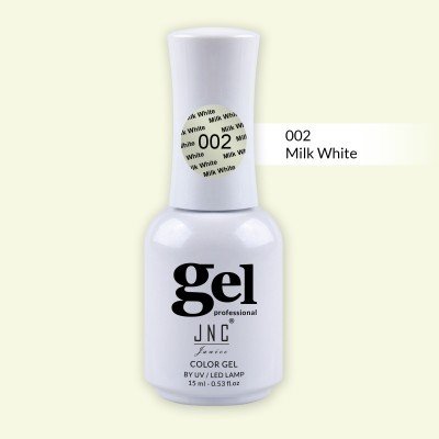 Verniz Gel 002 - Milk White