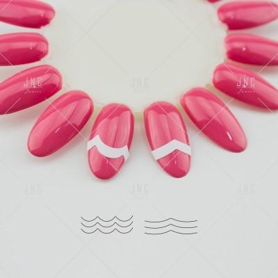 Adesivos Manicure Francesa #01 - Ref.860748