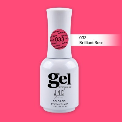 Verniz Gel 033 - Brilliant Rose