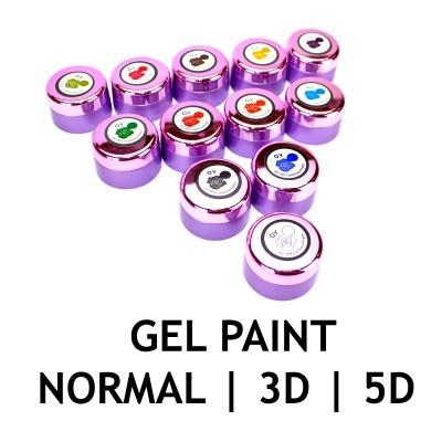 Gel Paint Normal | 3D | 5D