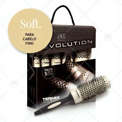 Pack Escovas Cabelo Soft - TERMIX EVOLUTION | Ref. 240521