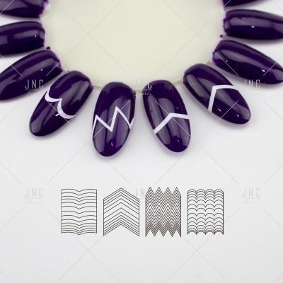 Adesivos Manicure Francesa #21 - Ref.860747