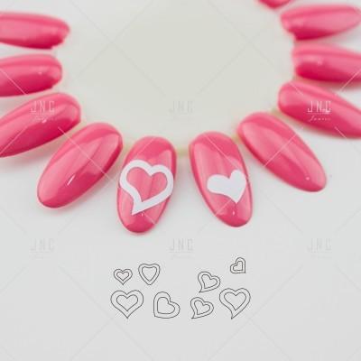 Adesivos Manicure Francesa #07 - Ref.860748