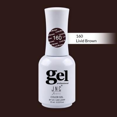 Verniz Gel 160 - Livid Brown