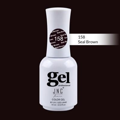 Verniz Gel 158 - Seal Brown