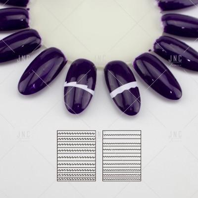 Adesivos Manicure Francesa #17 - Ref.860747