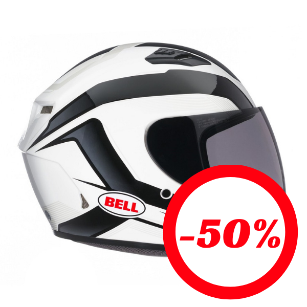 Capacete BELL PS Qualifier Branco