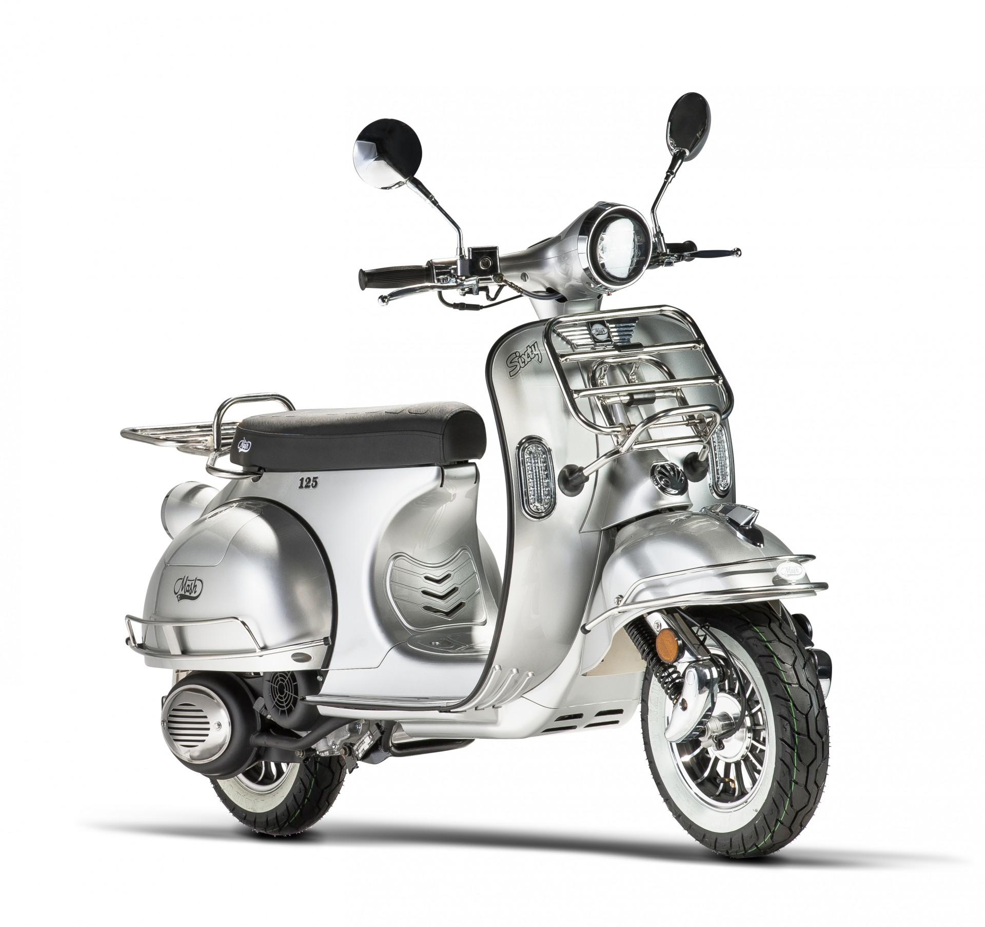 Mash Sixty Silver 125cc