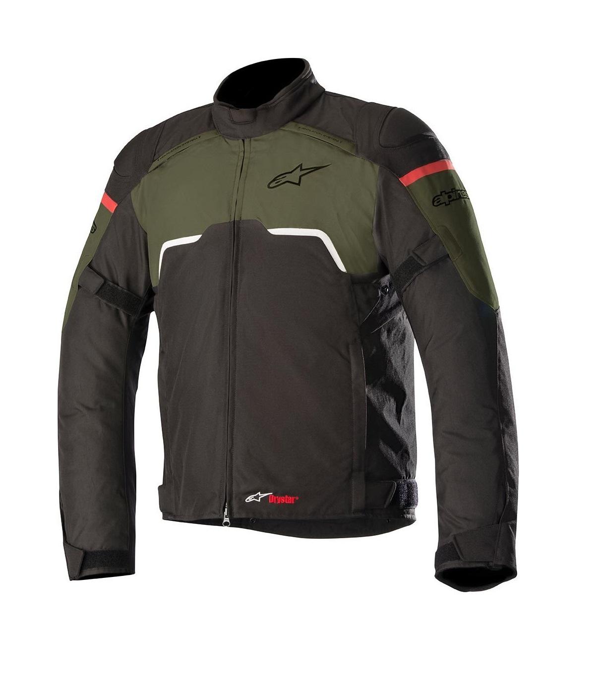 Blusão Alpinestars Hyper Verde Tropa/Preto
