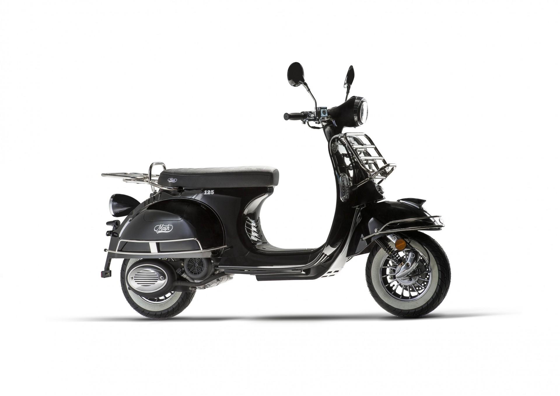 Mash Sixty Black 125cc