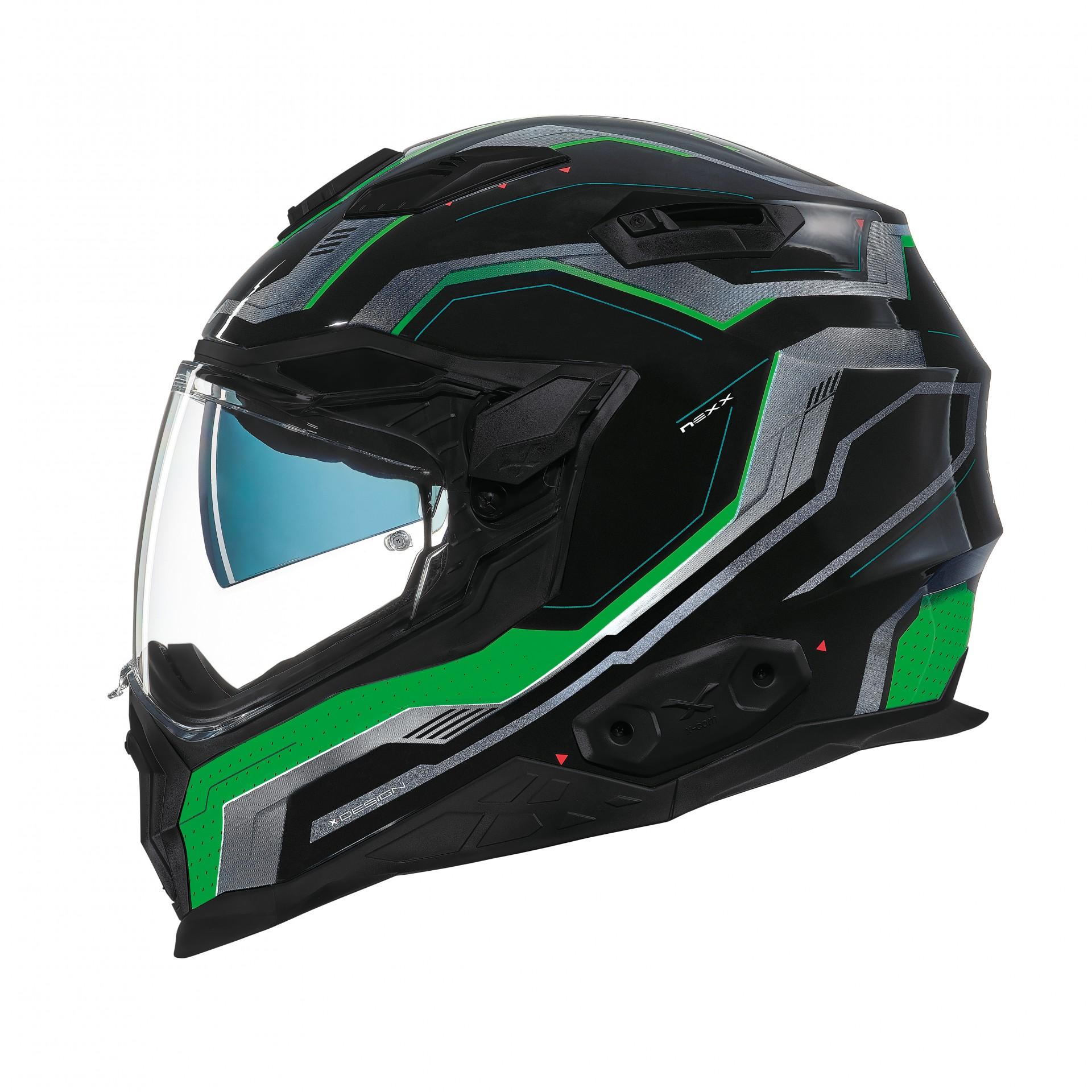 Capacete Nexx X.WST-2 Supercell Preto/Verde