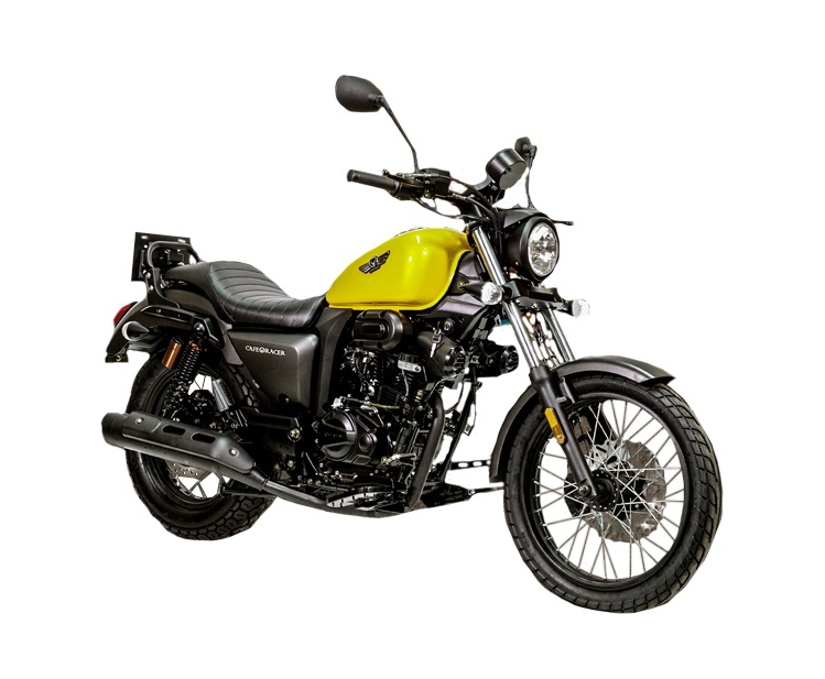 Vortex Cafe Racer Yellow 125cc