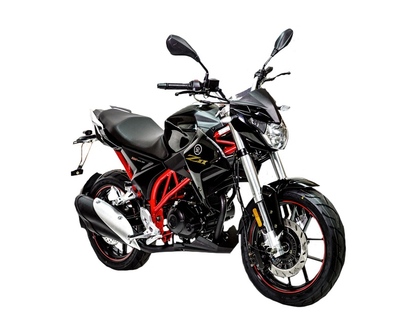 Vortex Naked Z2 Black 125cc