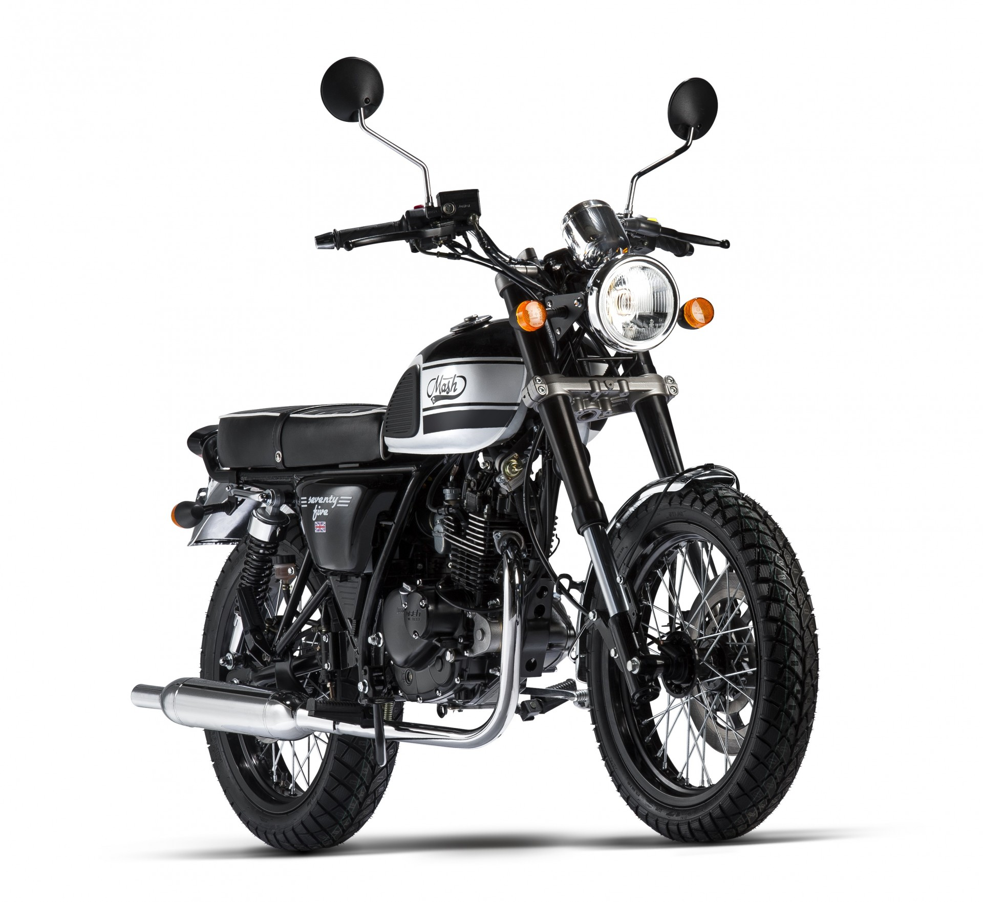 Mash Seventy Five Black 125cc